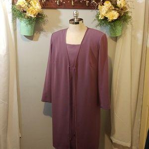 Elisabeth by Liz Claiborne jacket dress size 14